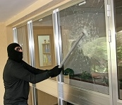 Glass home security