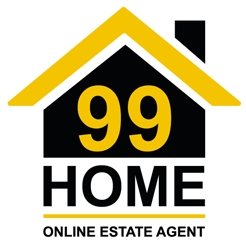 99 HOME online estate agent logo