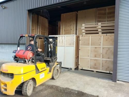 Forklift Storage