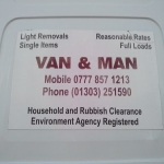 Van & Man Removals & House Clearance
