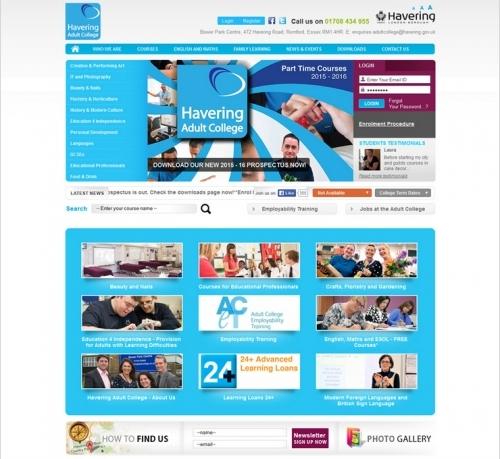 Web Design Work - Havering