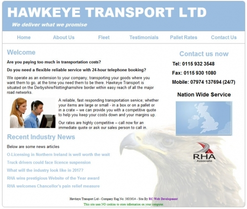 Hawkeye Transport Ltd