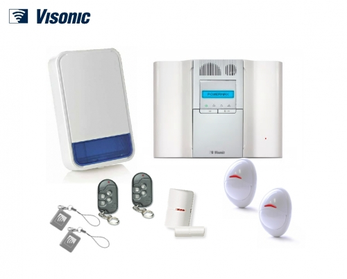Wireless Intruder Alarm Installation with Telephone Auto Dialler