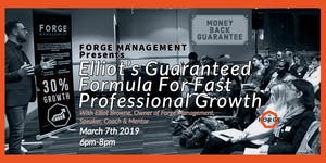 Forge Management Free Business Networking Event