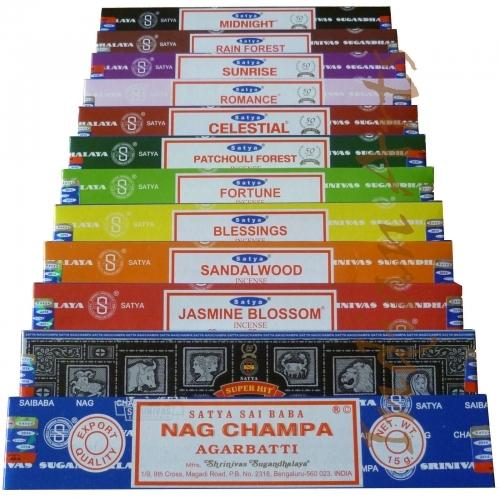 Satya Range of Incense Sticks