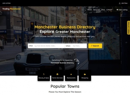 Web Design For Business Directories In Manchester