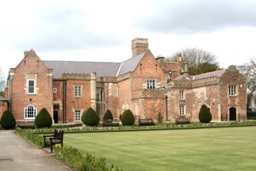 Ayscoughfee Hall is a Grade 1 Listed Building