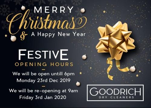 Festive Hours 2019