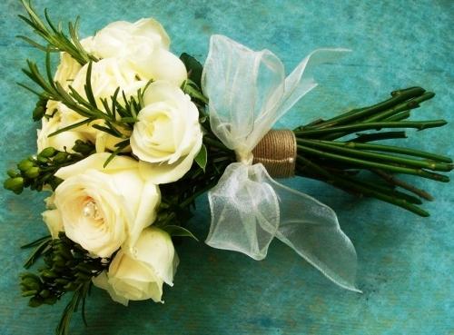 Wedding Flowers Rose Bouquet