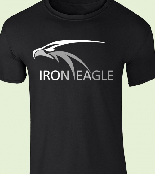 Iron-Eagle TShirt Black