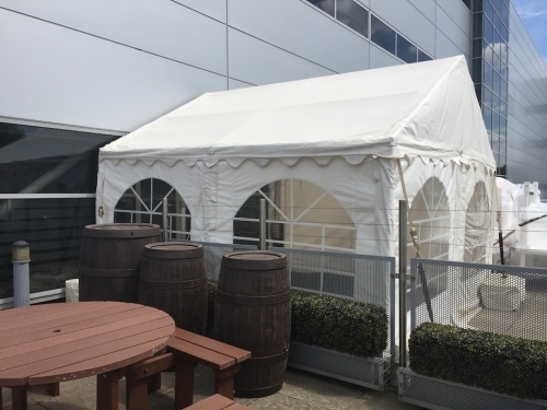 4m X 4m Corporate marquee On Hard Standing