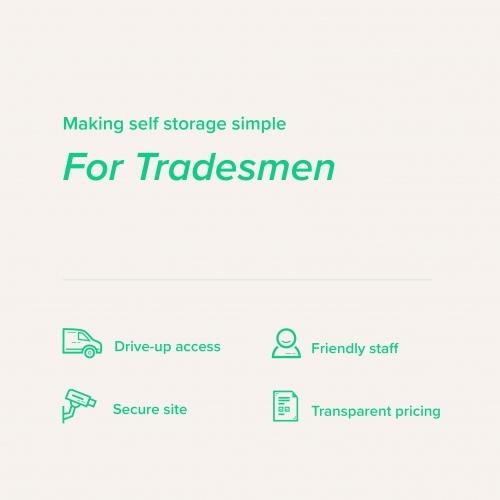 Self Storage For Tradesmen