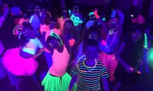 UV Glow Party Disco