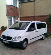 MPVs available for up to 7-8 passengers various models ideal for family transfers
