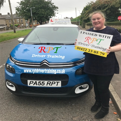 RPT Driver Training Driving Lessons Halifax Nicola Evans