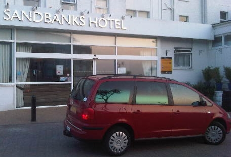 Local Hotel transfer from Bournemouth Poole area to London