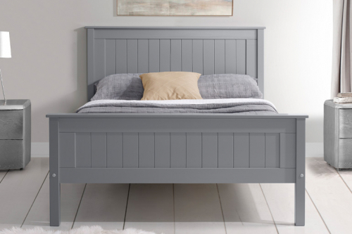 Limelight Taurus High Foot End Bed in Grey