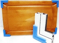 Foam corners window frame protection