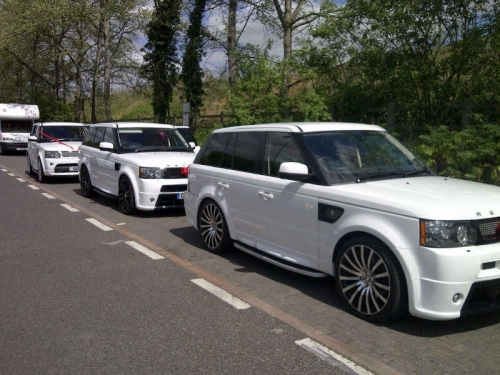 We have the following vehicles for chauffeur hire.