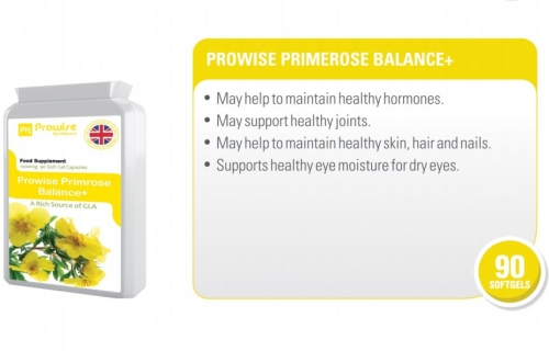 Prowise Evening Primrose Oil 90 Capsules 1000 mg UK Made