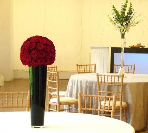 Surrey wedding flowers at Painshill Park by The Gorgeous Flower Company