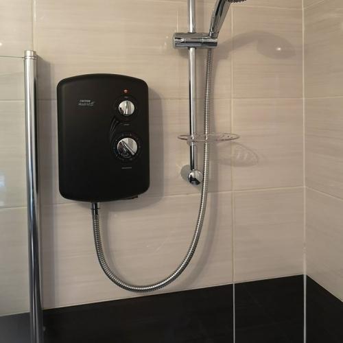 Black Triton Shower Unit
