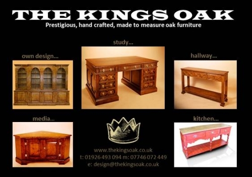 Antique reproduction oak furniture in London and Warwickshire