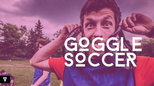 Goggle soccer, football Birmingham, West Midlands, UK, Nationwide