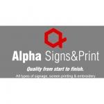 Alpha Signs & Print