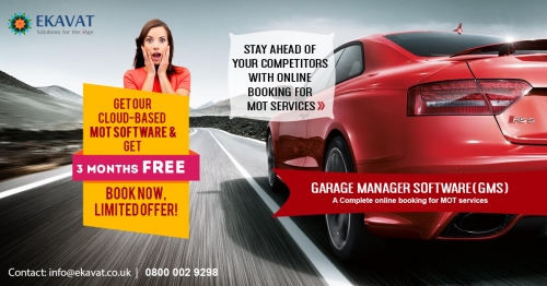 Get a 3 Month FREE commercial vehicle workshop software| garage booking diary