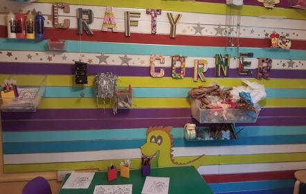 Crafty Corner at Crafty Wizards World