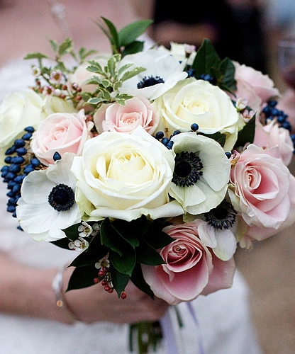 Brides bouquet in Surrey by The Gorgeous Flower Company