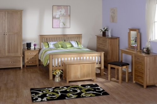 Oxford Contemporary Oak Bedroom Furniture