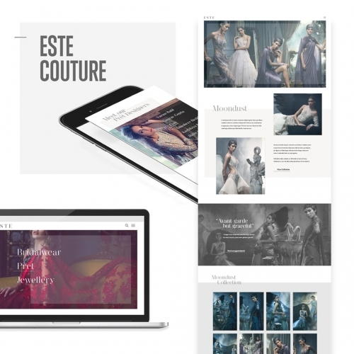 Este Couture - Design / Print / Web