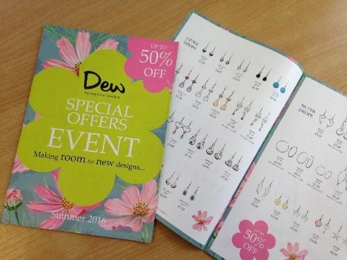 Catalogue printed for Kit Heath Jewellery