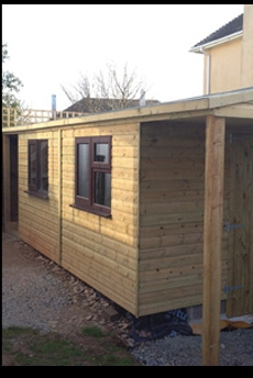 Building Services Plymouth Devon Kpt Garden Sheds And Buildings1