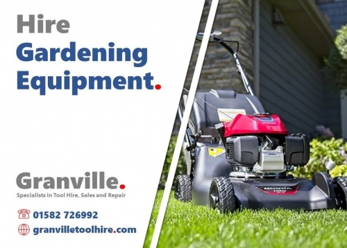 Granville Tool Hire Luton - Garden Equipment Hire