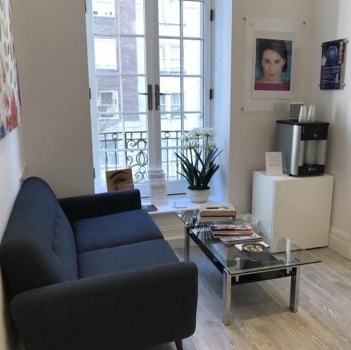 Comfortable Waiting Area with Refreshments