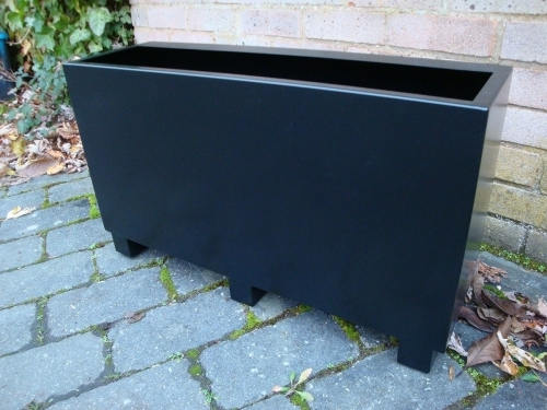 Bespoke Metal Trough Planters