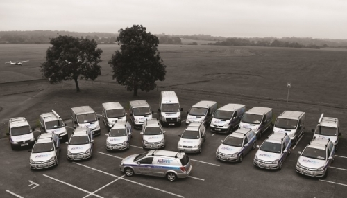 Airtech Fleet Of Service Vans Ready For Action In London - Service & Maintenance