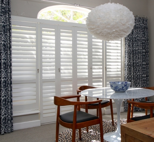 Portchester Aluminium Security Plantation Shutters