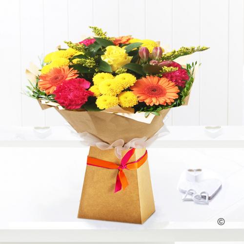 Citrus flower gift box
