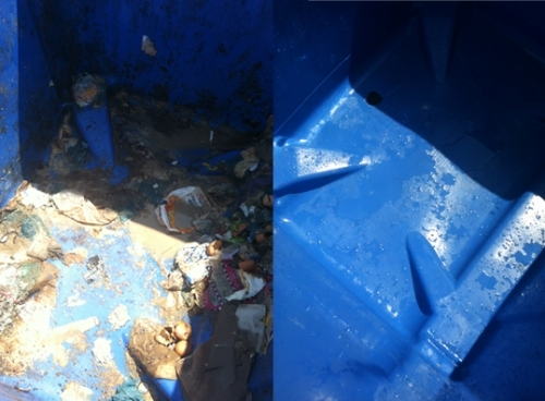 Bin Before And After