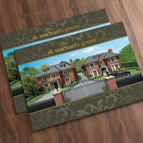 St Michaels Green Property Brochure: Design, Artwork, Floorplans, CGIs & Print