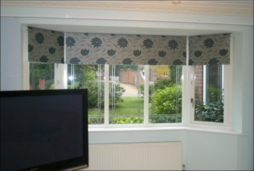 Pleated Bay Window Blinds