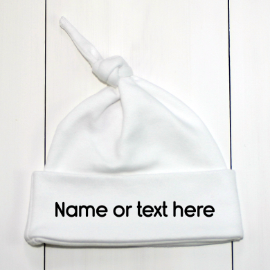 Name On A Baby Hat