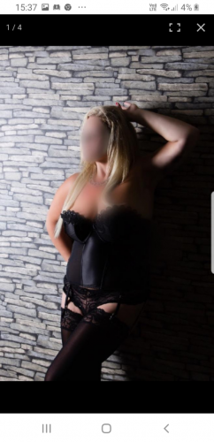 ellie is 39 and our in house dominitrix! So be good! Blonde 36f size 14 available every other Tue and wed