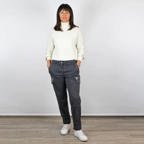 Marc Aurel Cargo Trousers Grey