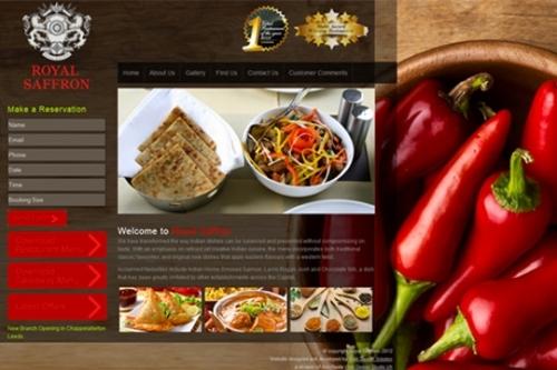 Recent Project Royal Saffron Website