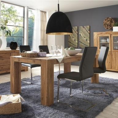 Manhattan Oak modern dining available in 9 different finishes